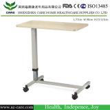 Luxuxkrankenhaus-Nachttisch-justierbarer Höhen-Esszimmer-Tisch-Preis des krankenhaus-ICU Bett verwendeter