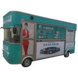 Carrello mobile trainabile moderno dell'alimento della pizza da vendere