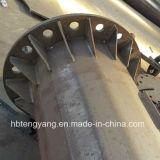 Galvanisierter Stahlantennen-Monopole beweglicher Aufsatz