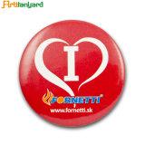 Клиент мода дизайн металлический логотип кнопки