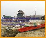 Máquina separadora de la plantilla del mineral de hierro de Placer