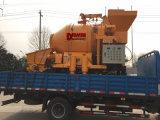 Mezclador del concreto preparado 450L con la fábrica de China de la bomba