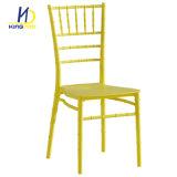 Plástico de alquiler moderno de los PP del partido del acontecimiento de la boda de la reproducción que cena la silla blanca de Chiavari