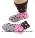 Broderie Logo Jacquard Middle Tube Lady Chaussettes