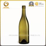 Выдвиженческое бутылочное стекло вина 750ml в штоке (1263)
