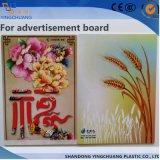 Strato di plastica di alta qualità per la pubblicità esterna