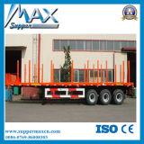 반 60t 나무 또는 콘테이너 수송 화물 트럭 트레일러