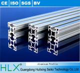 Profil en aluminium avec des couvertures de bande