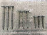 プラスチック正方形止め釘が付いている地面への固定の草の補強の網