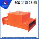 Linha separador magnético da tubulação Rcya-50 do minério permanente para a indústria do cimento/materiais de construção