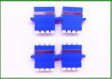 LC Upc Vezel Optisch aan RCA Adapter van de Kleur van het Type van Metalen kap van de Adapter FPC de Blauwe Mannelijke Vrouwelijke