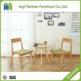 椅子(ダニエル)を食事するヨーロッパのカスタム最上質の標準木製の足