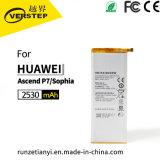 La batería original del reemplazo de la capacidad para Huawei asciende la batería 2530mAh de P7/Sophia 3.8V