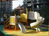 De OpenluchtSpeelplaats van de Kinderen van de fabrikant met de Plastic Dia's van Jonge geitjes (yl-W005)