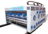 Гофрированный картон Полуавтоматическая машина установления временных интервалов для печати 2 цвета
