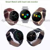 El teléfono elegante más nuevo del reloj de Bluetooth con el monitor K88h del ritmo cardíaco