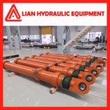 Подгонянный двойник действующий или цилиндр одиночного действующий прямого отключения гидровлический для металлургической промышленности