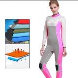De Roze het Duiken Jumpsuit van het Neopreen Huid Uit één stuk van uitstekende kwaliteit Wetsuit voor de Mens van Vrouwen