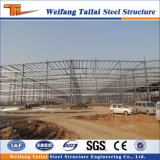 Almacén industrial prefabricado constructivo de la estructura de acero