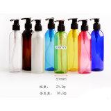 Bottiglia di plastica dell'animale domestico bianco di pulizia con la pompa della lozione (NB07)