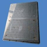 Квадратная крышка люка -лаза 18*24cm серого цвета SMC составная