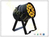 Iluminação de palco de Guangzhou 18*10W RGB LED de 4 em 1 Luz PAR IP65