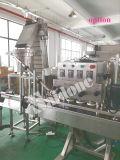 Máquina que capsula del eje de rotación semiautomático para las botellas redondas