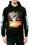 Algodão Custom Printed Men Pullover Hoodies (ELTHSJ-309)