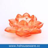 Houders van de Kaars van het Glas van de Vorm van Lotus de Kleurrijke