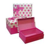 Doos van de Gift van het Karton van de douane de Verpakkende voor Handcraft