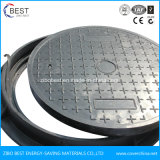 C250 runder SMC FRP Plastikeinsteigeloch-Deckel