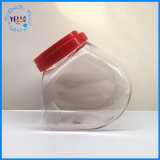 ふたが付いている卸し売りペットゆとりの広い口のプラスチック瓶