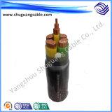 Водонепроницаемый XLPE изоляцией ПВХ пламенно бронированные электрического кабеля питания