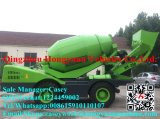 van het Diesel van 3.5cbm Motor van de Capaciteit van het Werk van de Vrachtwagen van de Concrete Mixer de ZelfCement van de Lading 95kw