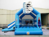 膨脹可能なCommercial Bouncy Castles Frozen Bounce HouseおよびInflatable Jumping Bouncer