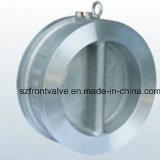 던지기 Iron 또는 Ductile Iron Wafer Duo Plate Check Valve