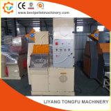 Alambres de cobre inútiles y cables que reciclan la máquina
