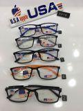 A luz Tr da forma dos frames molda frames óticos Eyewear do retângulo