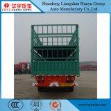 Rete fissa di Huayu/del palo camion rimorchio Double-Deck semi per trasporto bestiame/dell'animale