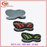 EVA unisex Outsole de goma para hacer los zapatos