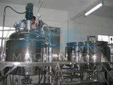 100Lタンク(ACE-JBG-A3)を混合する衛生ステンレス鋼の蒸気暖房の化粧品