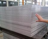 Piatto antisdrucciolevole per il piatto dell'alluminio del diamante rispecchiato pavimentazione
