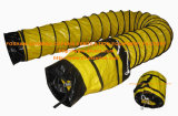 Gelber Standard Belüftung-feuerbeständige flexible Leitung mit tragen Beutel