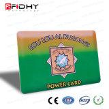 Cr80 Impressão CMYK padrão RFID Cartão de Freqüência Dupla