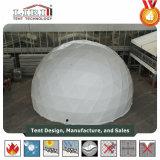 販売のための5-30mの白く、透過PVC測地線ドームのイベントのテント