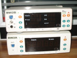 De geduldige Apparatuur van de Controle, de Monitor van Levensteken met Ce ISO, SpO2, NIBP, Temperatuur, Polsslag