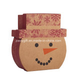 La Navidad embroma el rectángulo de regalo Shaped de papel de empaquetado del rompecabezas