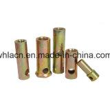 La fijación de prefabricados de hormigón toma Insertar férula con barra transversal (construcción)