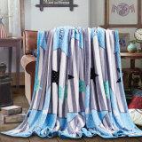Sherpaの投球毛布のフランネルのFlecee Minky毛布