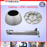 Pezzo fuso perso di alluminio lavorante centrale della gomma piuma dell'acciaio inossidabile del ferro di CNC Machiniery